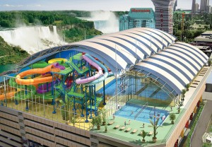 Have family-friendly New Year's Eve fun at the Fallsview Indoor Waterpark.